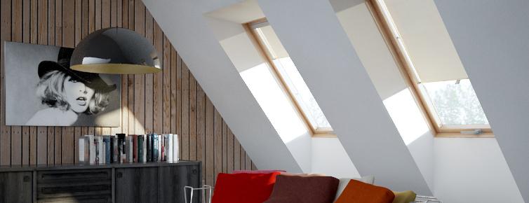 itzala sichtschutz rollos f r dachfenster kaufen sie jetzt zu tollen preisen. Black Bedroom Furniture Sets. Home Design Ideas